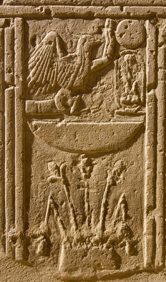 Download Ancient Egyptian Hieroglyphics Stock Photo - Image of image, temple: 18091780