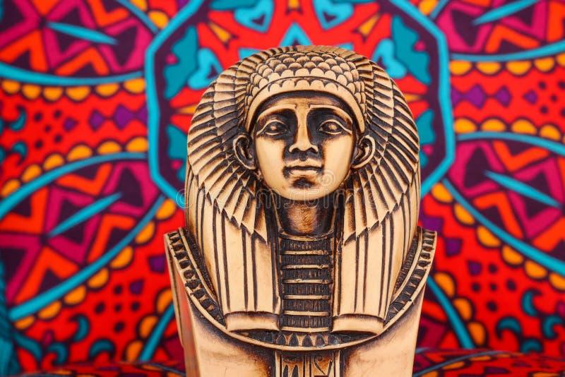 Ancient Egyptian Pharaoh Statue royalty free stock photography