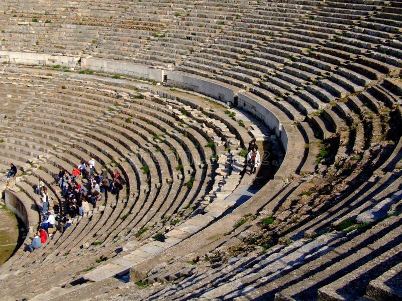 Download Ancient Ephesus theatre stock photo. Image of vacation - 4223738