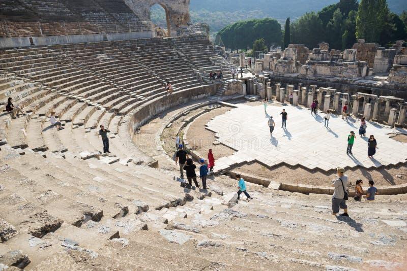 Ancient Ephesus theatre royalty free stock image
