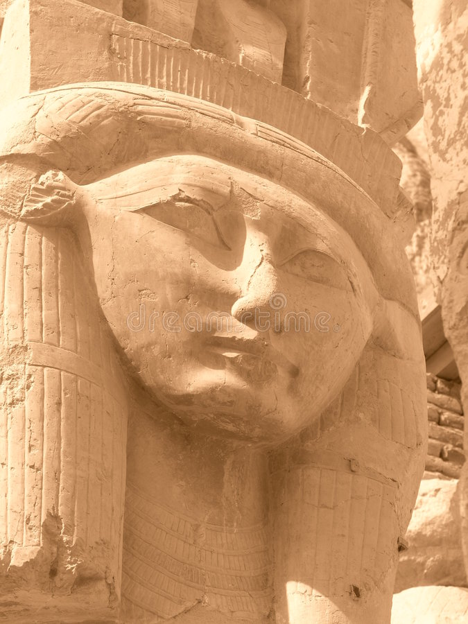 Ancient face royalty free stock photography