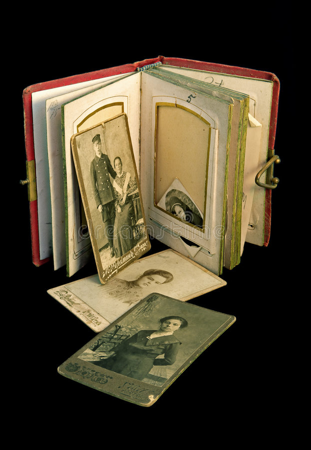 Free Ancient Family Album Stock Photo - 768980