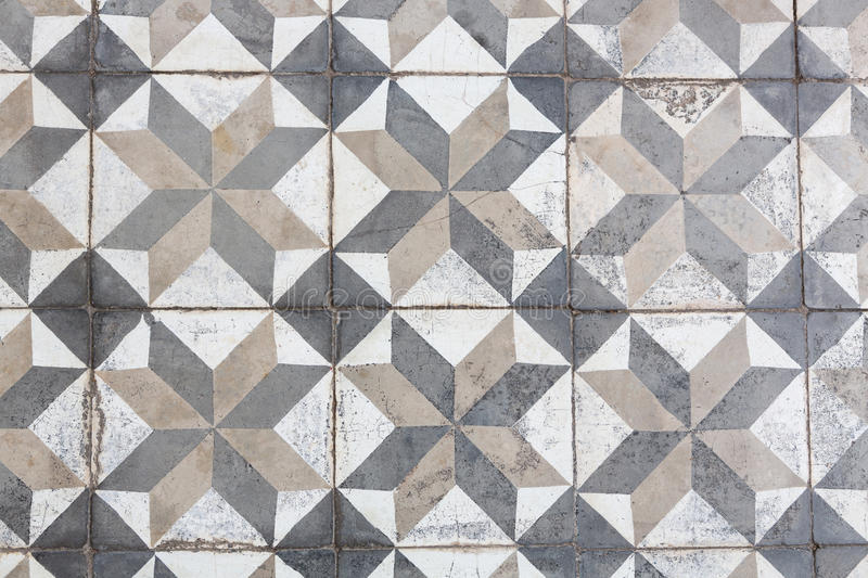 Ancient floor tiles. Ancient style floor tiles pattern stock photos