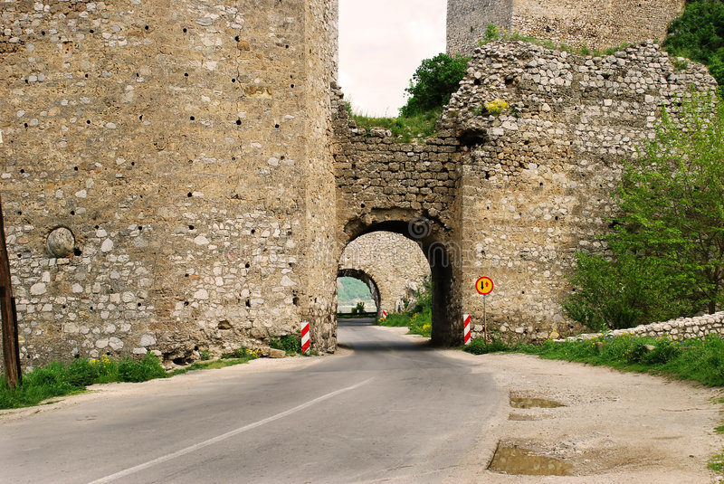 Download Ancient fortification stock photo. Image of ruin, demolish - 6633512