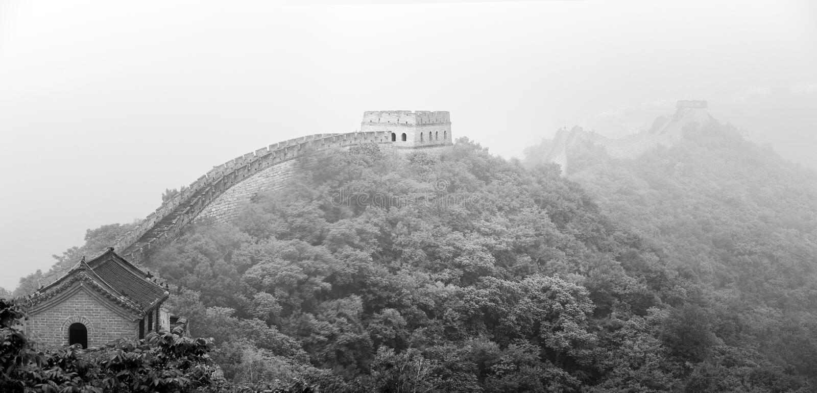 Ancient Fortress, Great Wall Of China, Beijing Stock Photography