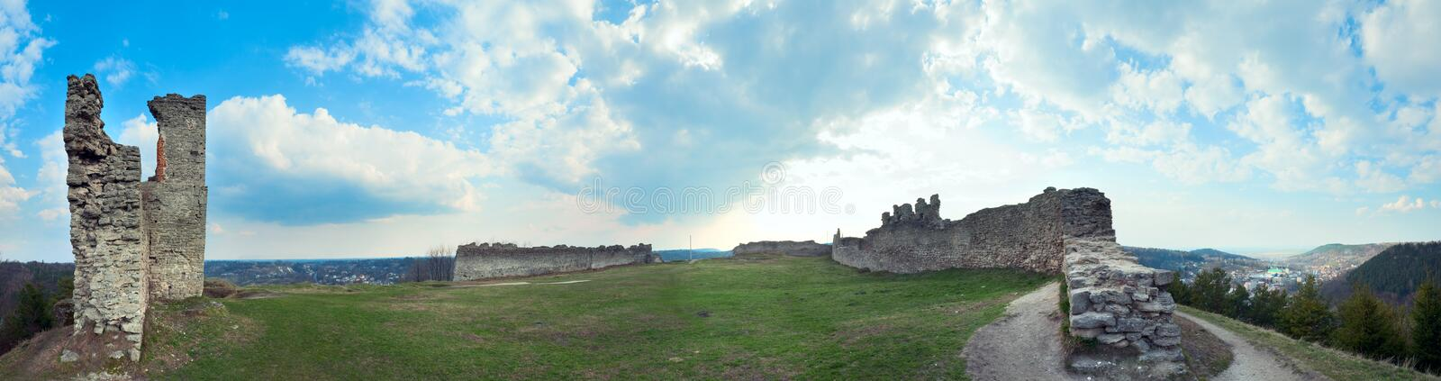 Download Ancient fortress ruins. stock image. Image of kremenets - 16905819