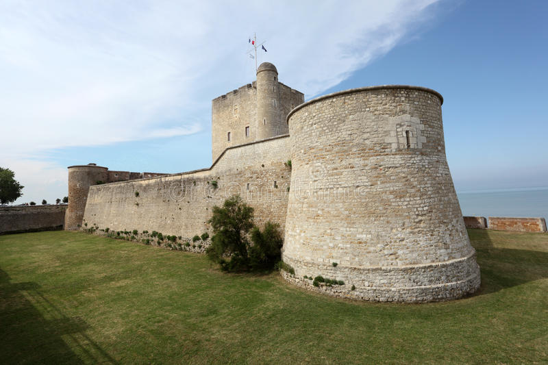 Ancient fortress Vauban in Fouras, France. Ancient fortress Vauban in Fouras, Charente-Maritime, France royalty free stock photo