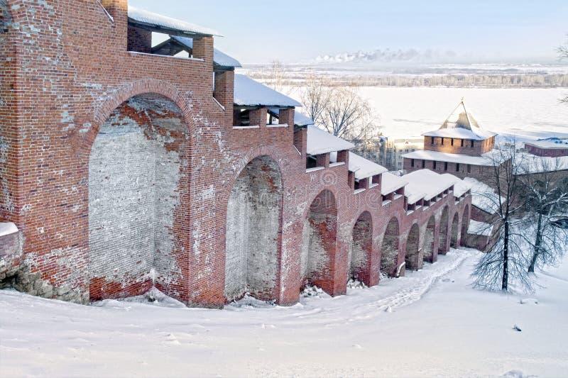 Ancient fortress walls