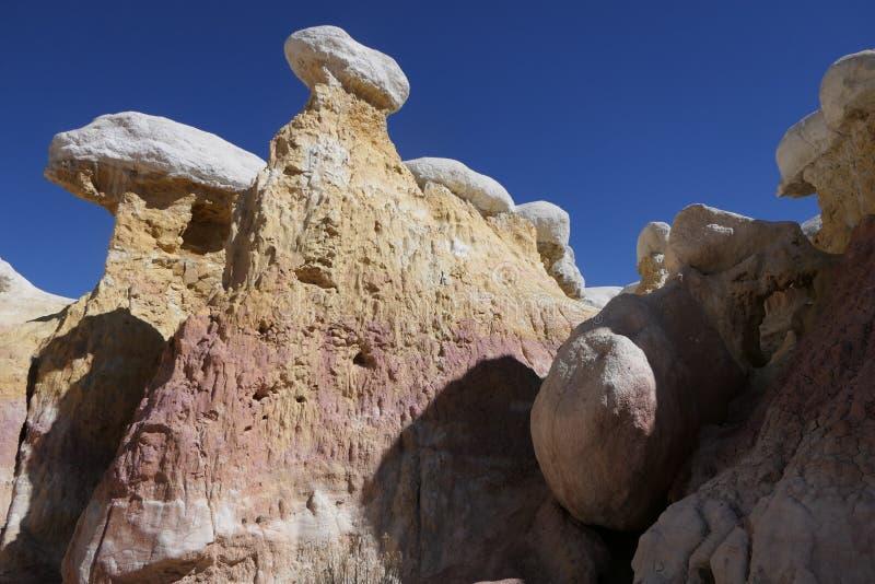 Paint Mines Interpretive Park in Colorado stock photo