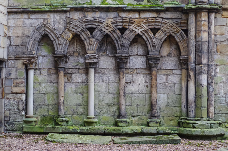 Download Ancient Gothic Stone Wall Stock Photo Image Of
