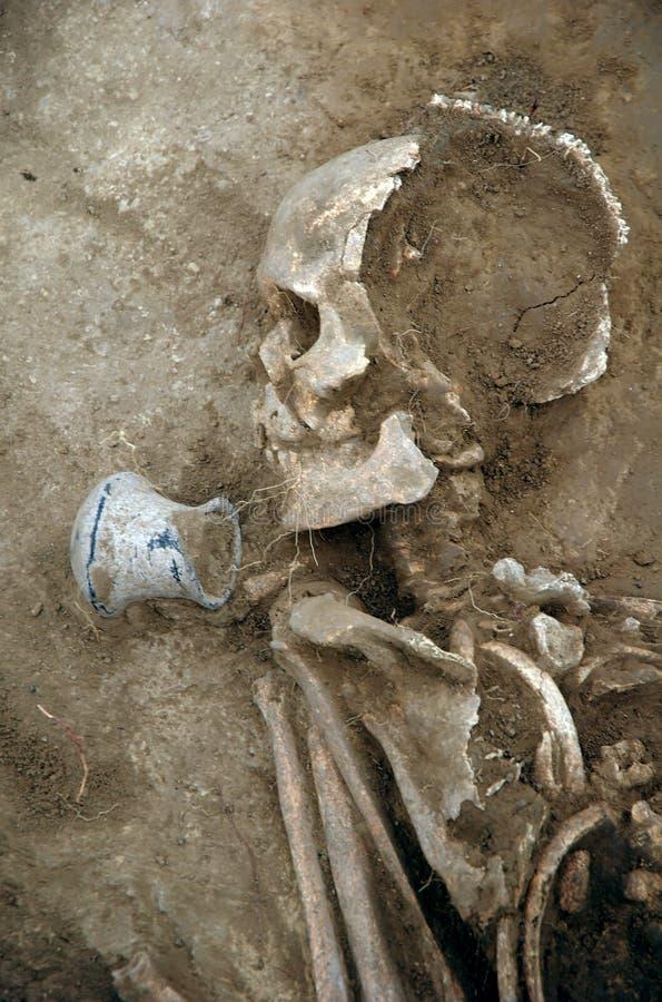 Ancient grave stock photos