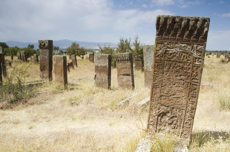 Download Ancient graves stock image. Image of ruin, graves, headstone - 13130337