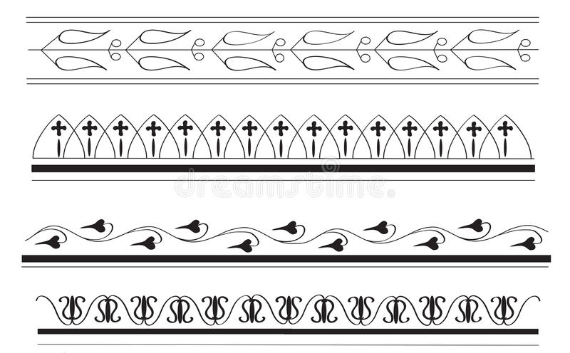 greek lines page outline gold | Borders for paper, Page borders, Page frames