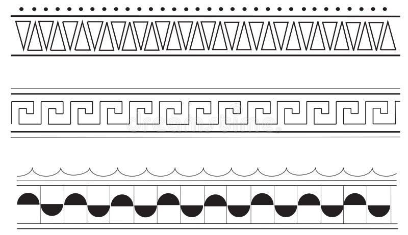 Ancient Greek Border Patterns Stock Vector - Illustration ...