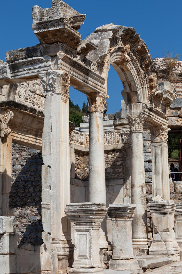 Download The Ancient Greek City Ephesus Stock Image - Image: 32212277
