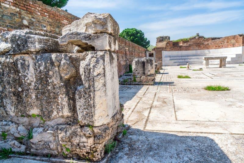 Sardes Ancient City Artemis Temple Stock Image - Image of