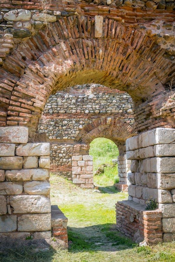 Ancient Greek City Lydia Roman Empire Sardes Sardis Stock