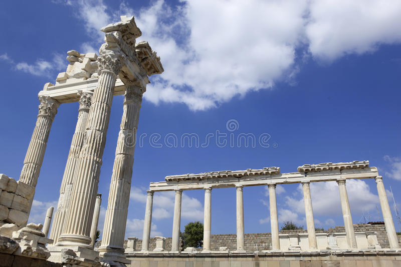 Download Ancient Greek City Of Pergamon In Bergama, Turkey Stock Photo - Image: 26653144