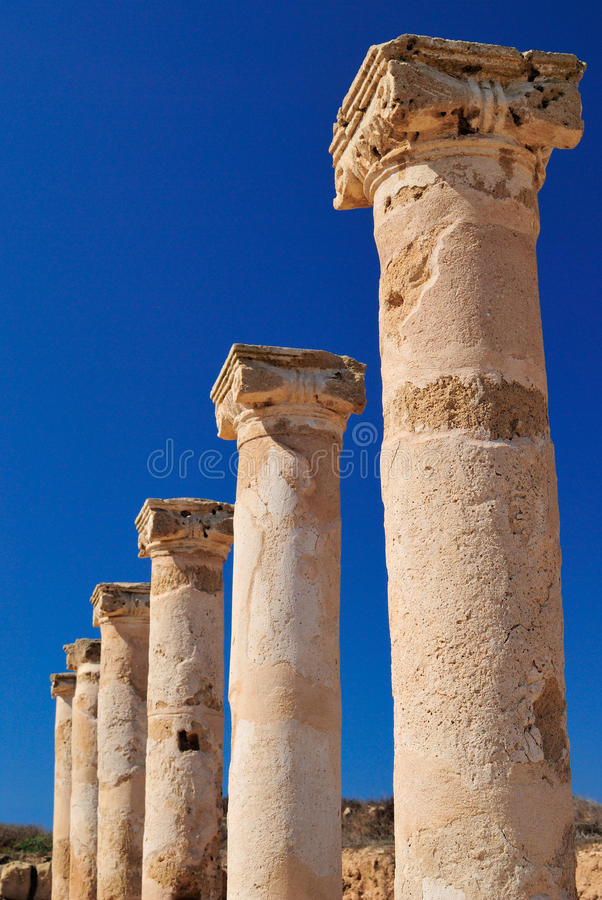 Free Ancient Greek Columns Royalty Free Stock Photos - 21431808