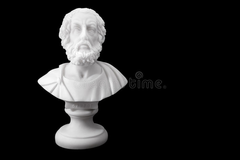 Ancient Greek poets stock photos