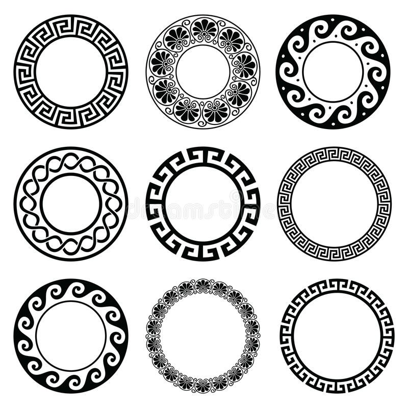Romische Frau 1 moreover Stock Illustration Ancient Greek Round Pattern Seamless Set Antique Borders Greece Vector Repetitive Design Circle Vase Patterns Isolated Image79796916 together with Clipart YckgEk6di likewise Vase 4 also Diamond Line Art 885. on greek vase drawing