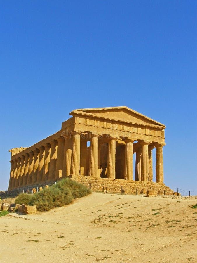 Ancient Greek temple stock photos