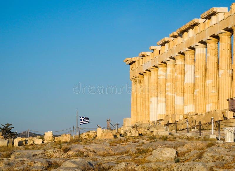 Ancient Greek Temple Parthenon Stock Photo Image of architecture