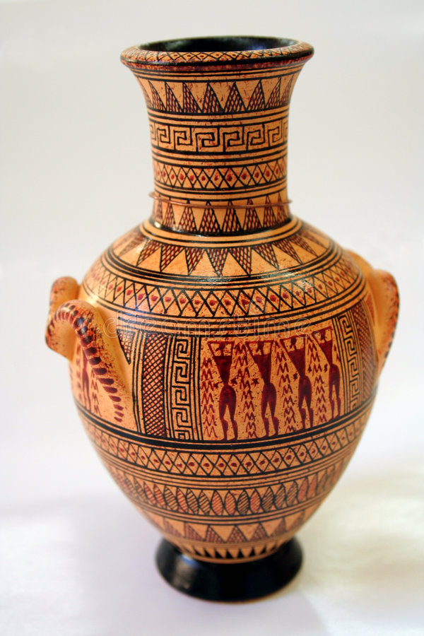 Free Ancient Greek Vase Royalty Free Stock Image - 3194066