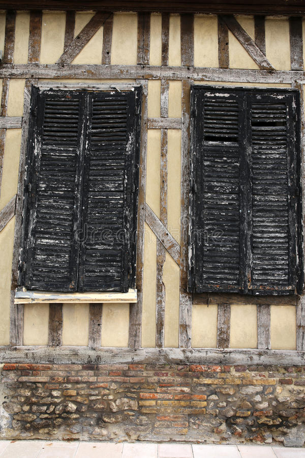 Download Ancient Half-timbered Building Stock Photo - Image of history, timber: 34197060