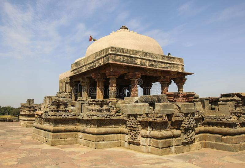 The ancient Harshat Mata temple in Abhaneri, Rajasthan, India. The ancient Harshat Mata temple in Abhaneri, state Rajasthan, India stock photo