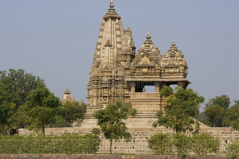 Ancient Hindu Temple royalty free stock image