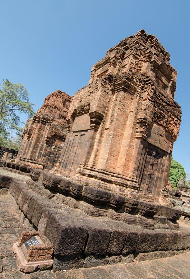 Ancient historical parks, Buriram Thailand. This is old historical park at Buriram located in Thailand stock images
