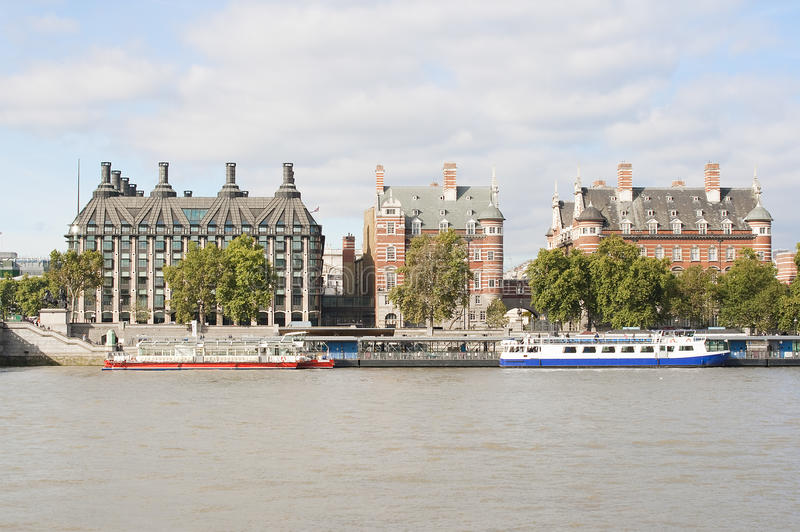 Download Ancient Houses Across The River Thames In London Stock Images - Image: 11223524
