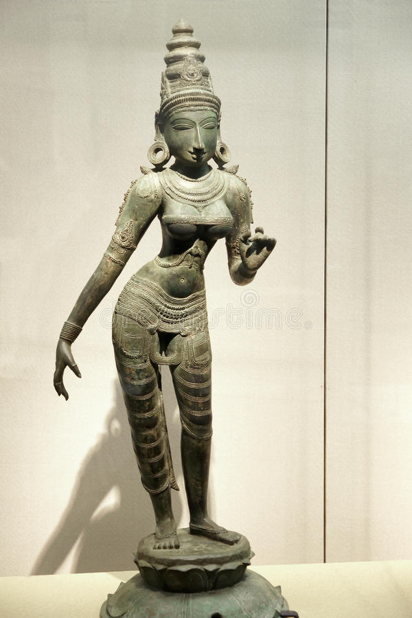 Free Ancient India Bronze Statue Royalty Free Stock Photo - 41525225