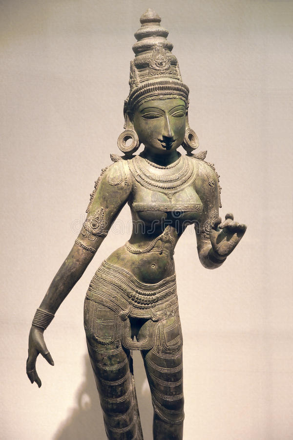 Free Ancient India Bronze Statue Royalty Free Stock Photography - 41525317
