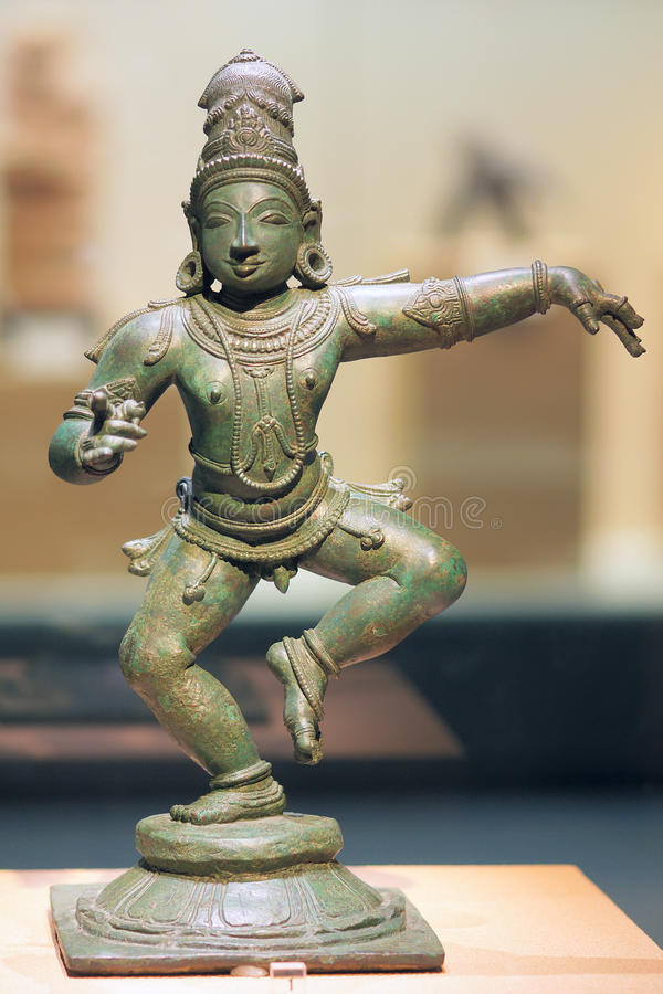 Free Ancient India Bronze Statue Royalty Free Stock Photography - 41920547