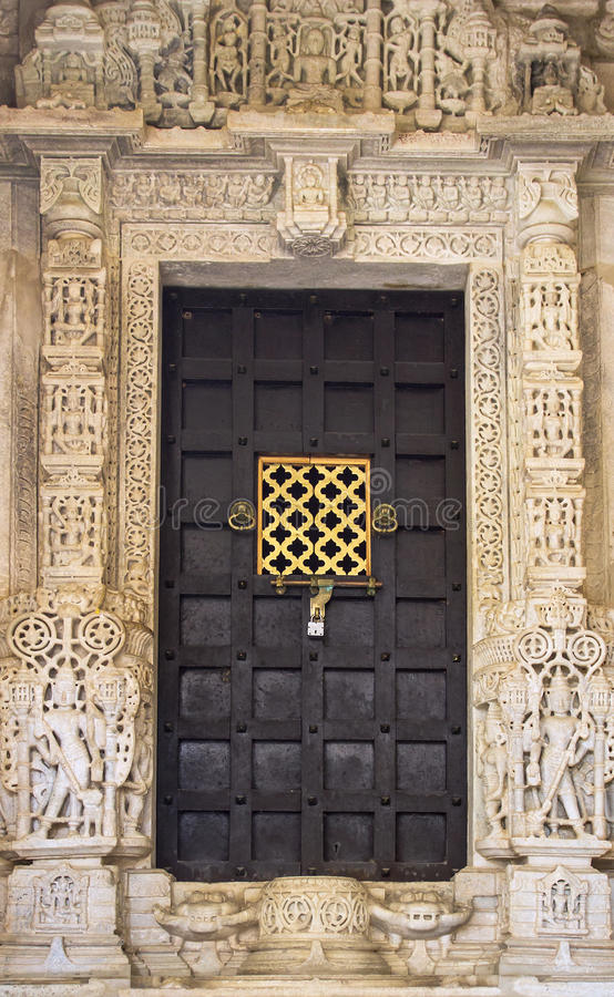 Ancient India doors. Close-up image of ancient India doors royalty free stock images