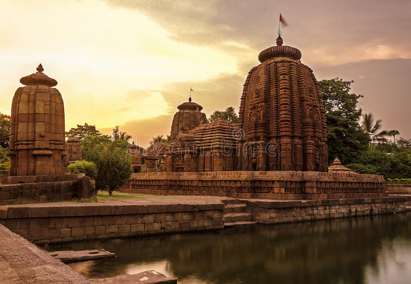 Ancient Indian Temple royalty free stock photos