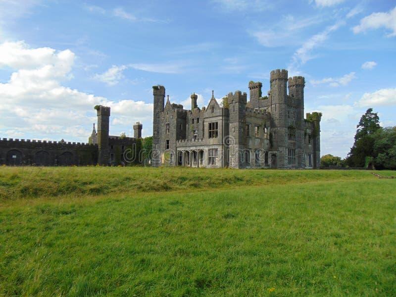 The Saunderson Ancient Irish Castle royalty free stock image