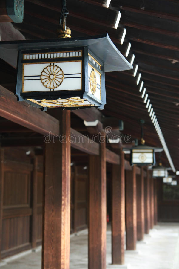Japanese Lamp stock photos