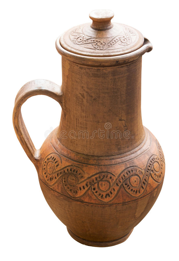 Ancient jug royalty free stock image