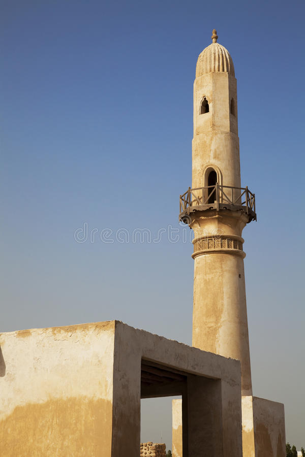 Download Ancient Khamis Mosque, Bahrain Stock Image - Image of east, pray: 14582525