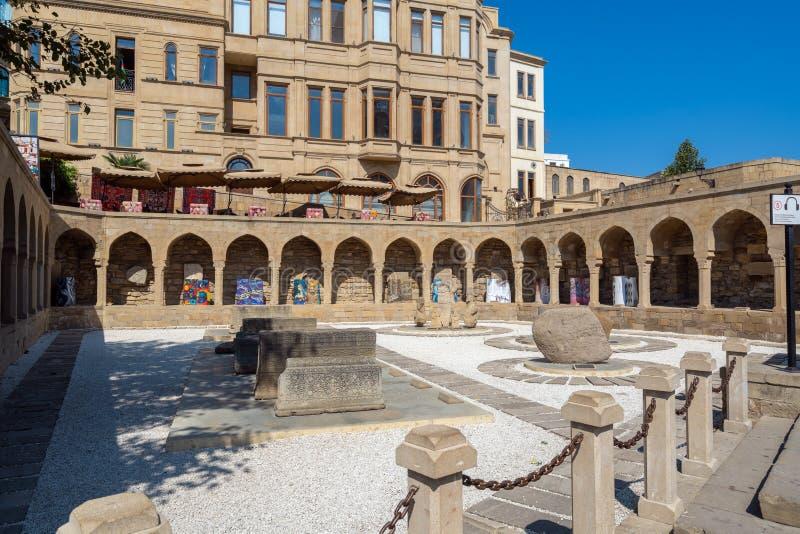 Ancient Khan baths house. Azerbaijan, Baku, September 20, 2019 Ancient Khan baths royalty free stock images
