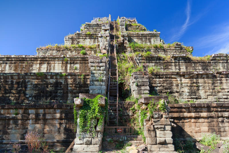 Download Ancient Khmer Pyramid In Koh Ker Stock Photo - Image of history, nobody: 23254954