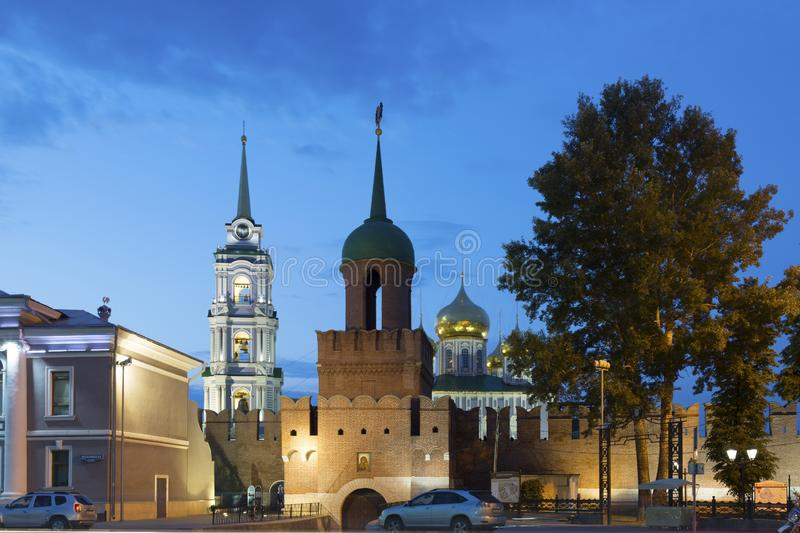 Ancient kremlin in Tula , Russia royalty free stock images