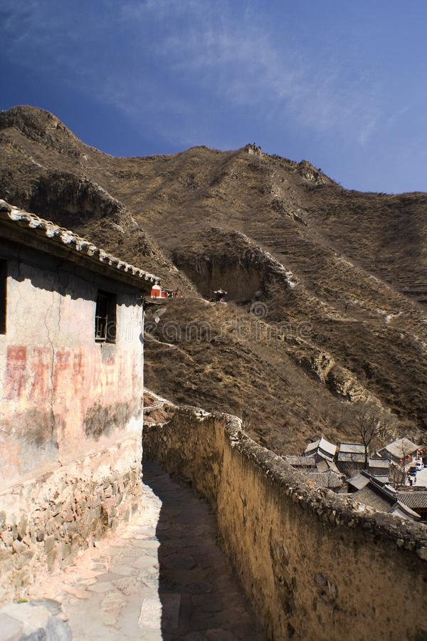 Download Ancient Lane In A Chinese Village Near Beijing Stock Photo - Image: 8954944