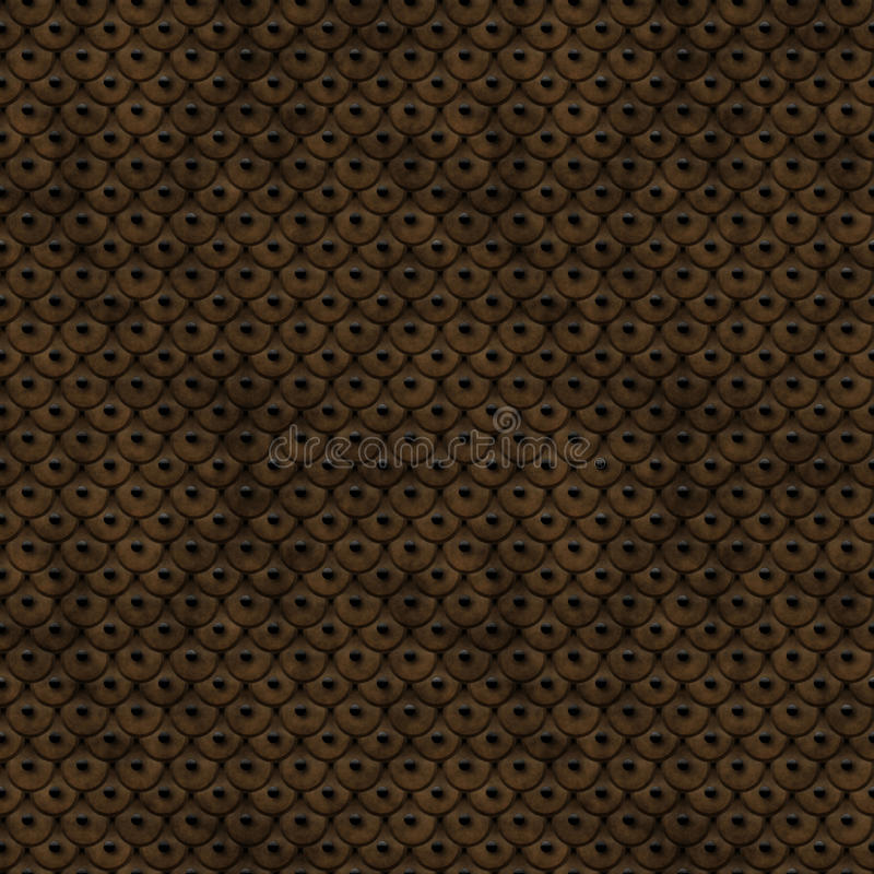 Download Ancient Leather Scales Seamless Pattern Royalty Free Stock Image - Image: 24414476