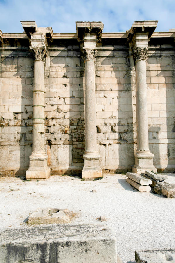 Download Ancient Library Of Hadrian, Athens, Greece Stock Photo - Image: 37610912