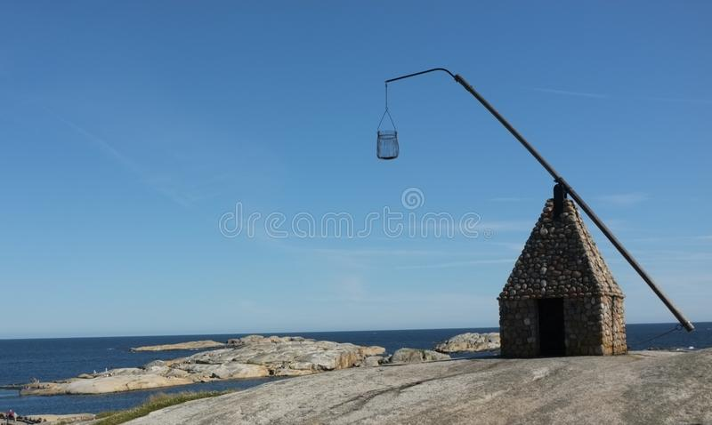 Ancient Lighthouse royalty free stock image