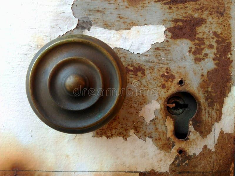 Ancient lock full of rust. royalty free stock photos